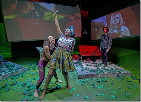 Daniella Pereira, Echaka Agba and Japhet Balaban star as Tori, Meredith and Guy