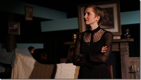 Kat Christensen stars in Why Do You Always Wear Black, Organic Theater