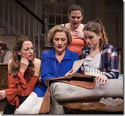 Louise Lamson, Janet Ulrich Brooks, Linsey Page Morton, Grace Smith star in Plantation, Lookingglass Theatre