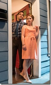Paul Fagen, Brianna Borger, Michael McKeough and Sarah Grant star in Southern Gothic, Windy City Playhouse