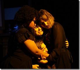 Taylor Wisham, Nyssa Lowenstein, Kat Christensen and Ariana Silvan-Grau star in Why Do You Always Wear Black