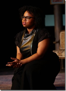 Taylor Wisham stars in Why Do You Always Wear Black, Organic Theater