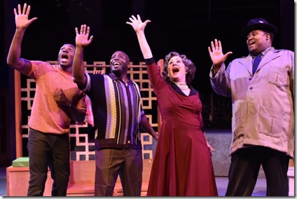 Gilbert Domally, James Earl Jones II, Nancy Wagner and Lorenzo Rush, Jr. star in Memphis, Porchlight