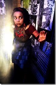 Samantha Newcomb stars as Door in Neverwhere, Lifeline Theatre
