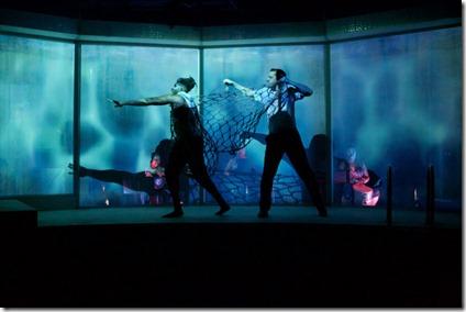 Gregory Geffrard and Matt Fletcher star in Tilikum, Sideshow Theatre