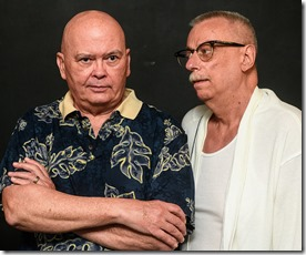 Charles A. Berglund and Danne W. Taylor star in Hurrican Damage, Pride Arts