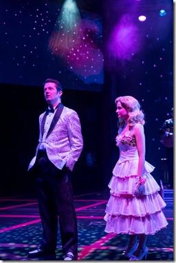 Eddie Clendening  and Erin Burniston  star as Elvis and Dixie Locke in Heartbreak Hotel, Broadway Chicago