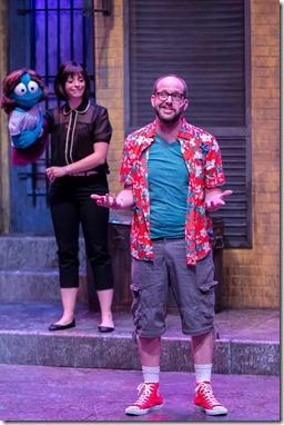 Mercury's Avenue Q '18 (Brett A. Beiner) - Leah Morrow (Kate Monster), Matthew Miles (Brian)