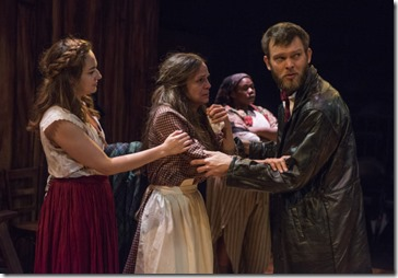 Ilse Zacharias, Rebecca Jordan, Jazzma Pryor and Drew Schad star in Crime and Punishment