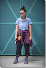 Karissa Murrell Myers stars as Abbott in Borealis, House Theatre of Chicago