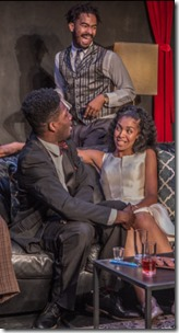 Marcus D. Moore, Sheldon Brown, Eric Gerard, Kiayla Ryann and Hunter Bryant star in The Shipment, Red Tape Theatre