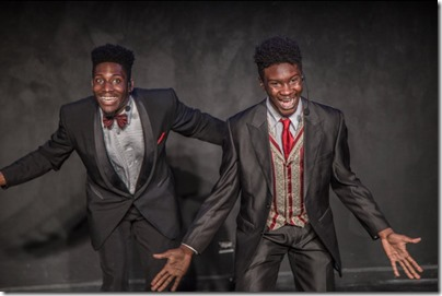 Sheldon Brown and Hunter Bryant star in The Shipment, Red Tape Theatre Chicago