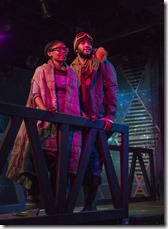 Tia Pinson and Desmond Gray star as Cozbi and Absalom in Borealis, House Theatre Chicago