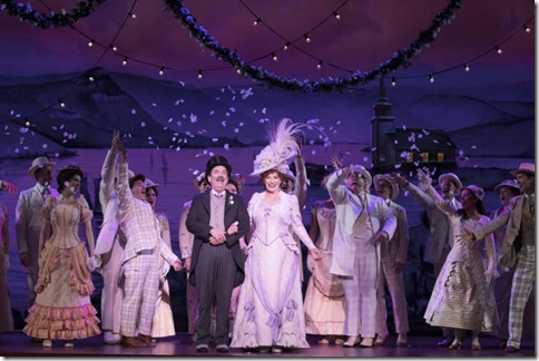 Betty Buckley and Lewis J. Stadlen star as Dolly and Horace in Hello Dolly, Broadway in Chicago 2