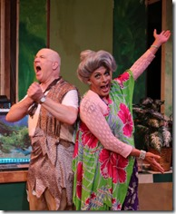 Ed Jones and David Cerda star in The Artificial Jungle, Hell in Handbag Productions