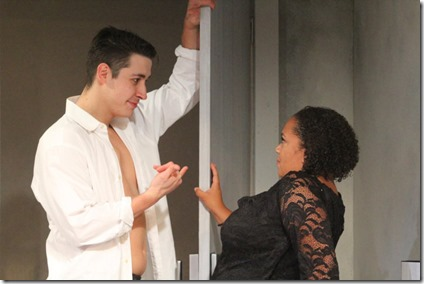 Jeff Kurysz and Sasha Smith star in Zürich, Steep Theatre (GG)