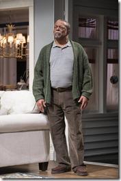 Cedric Young stars as Donald Chinyaramwira in Familiar by Danai Gurira, Steppenwolf Theatre