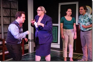 Jack Morsovillo, Alisha Fabbi, Daniela Martinez and Johnny Kalita star in Love's Labour's Lost, Invictus Theatre