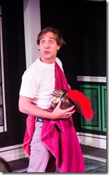 Johnny Kalita stars in Love's Labour's Lost, Invictus Theatre