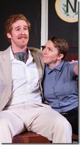 Martin Diaz-Valdez and Rae Hamilton-Vargo star in Love's Labour's Lost, Invictus Theatre