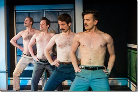 Taylor Glowac, Samual Cheeseman, Charles Askenaizer and Chad Bay star in Love's Labour's Lost, Invictus Theatre