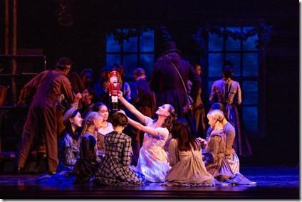 Cara Marie Gary stars in The Nutcracker by Christopher Wheeldon, Joffrey Ballet Chicago