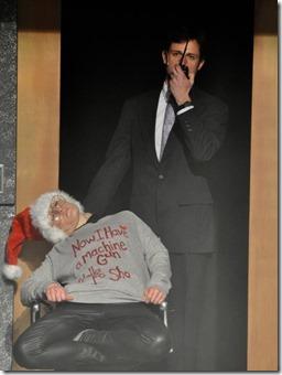 Erin Long and Gary Fields star as Terrorist Tony and Hans Olo in Yippee Ki-Yay Christmas Die Hard