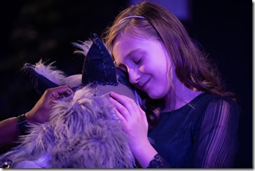 Shariba Rivers and Molly Southgate star as Winter Wolf and Cora in The Winter Wolf, Otherworld Theatre