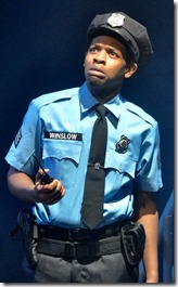 Terrance Lamonte Rogers Jr. stars as Carl Winslow in Yippee Ki-Yay Christmas Die Hard Musical Parody