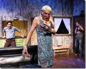 Jordan Dell Harris, Stevie Love and Josh Kemper star in Evil Dead the Musical, Black Button Eyes Prods