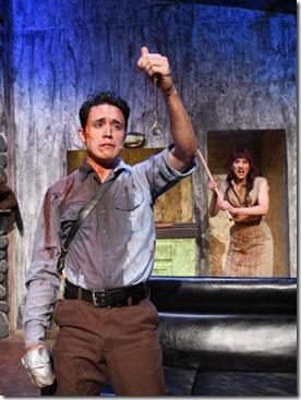 Jordan Dell Harris and Stevie Love star in Evil Dead the Musical, Black Button Eyes Prods