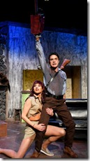 Stevie Love and Jordan Dell Harris star in Evil Dead the Musical, Black Button Eyes Productions