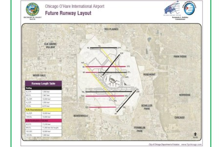 O Hare Airport Runway Map Path Decorations Pictures Full Path