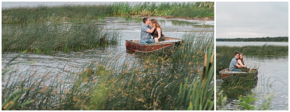 Gull Lake Engagement Photographer