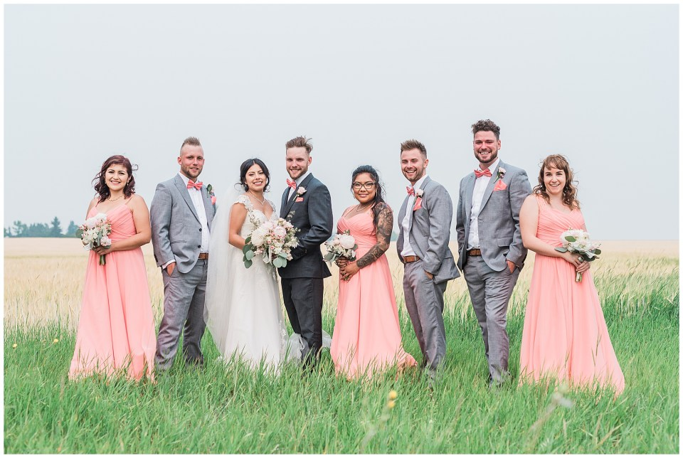 Summer Calgary wedding at Prince of Peace