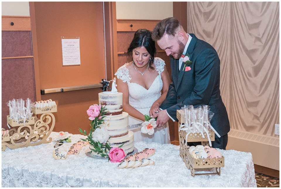 Summer Calgary wedding at Prince of Peace