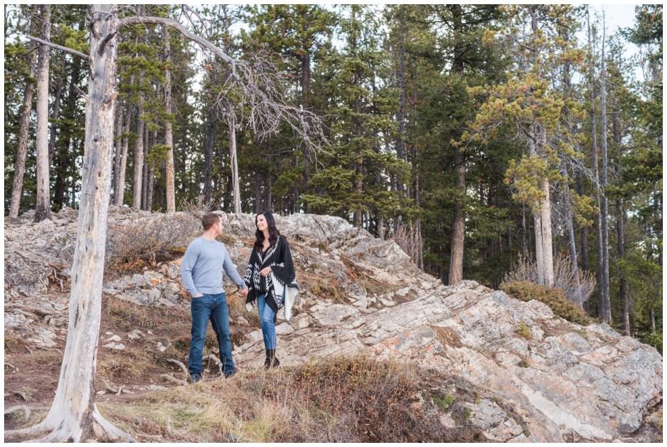 Lake Minnewanka Engagement session