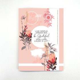 cahier live simple chic and pepper