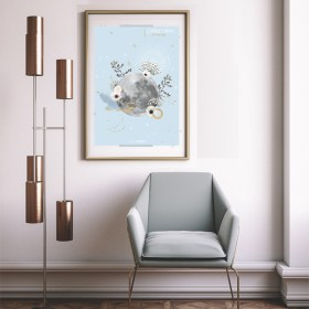 affiche Moon Capricorne Chic and Pepper