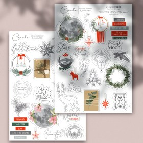 Moon Stickers hiver Chic and Pepper