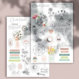 Moon Stickers printemps Chic and Pepper