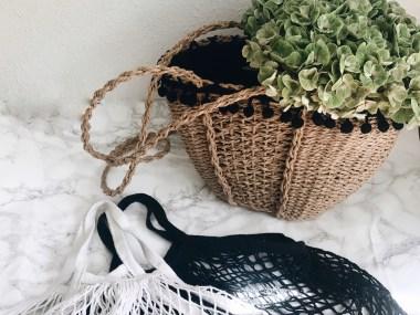 le sac panier de l'été