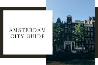 Un weekend à Amsterdam