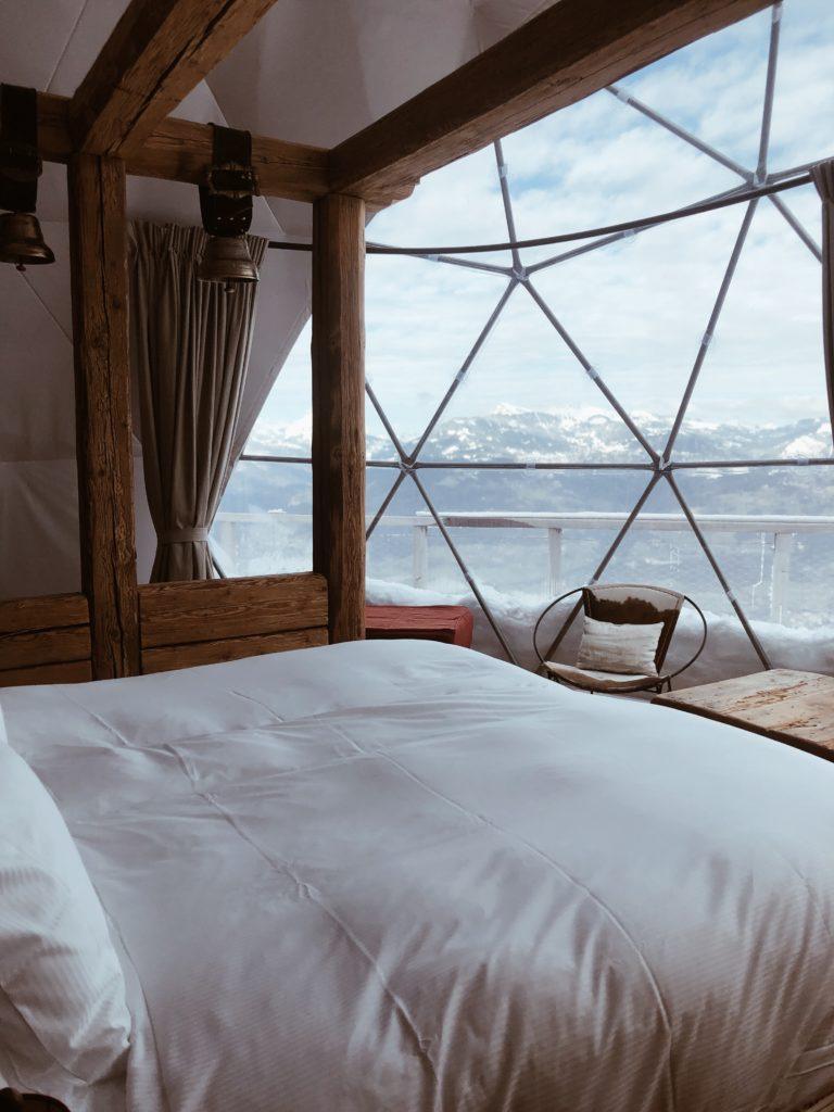 Whitepod Eco-Luxury Hotel, Swissalps