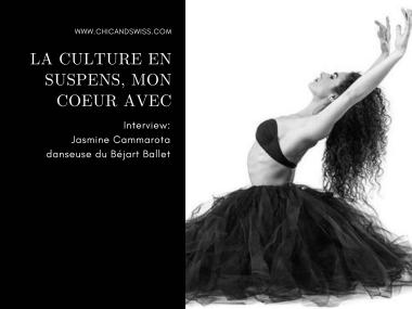 Jasmine Cammarota, danseuse au Béjart Ballet Lausanne