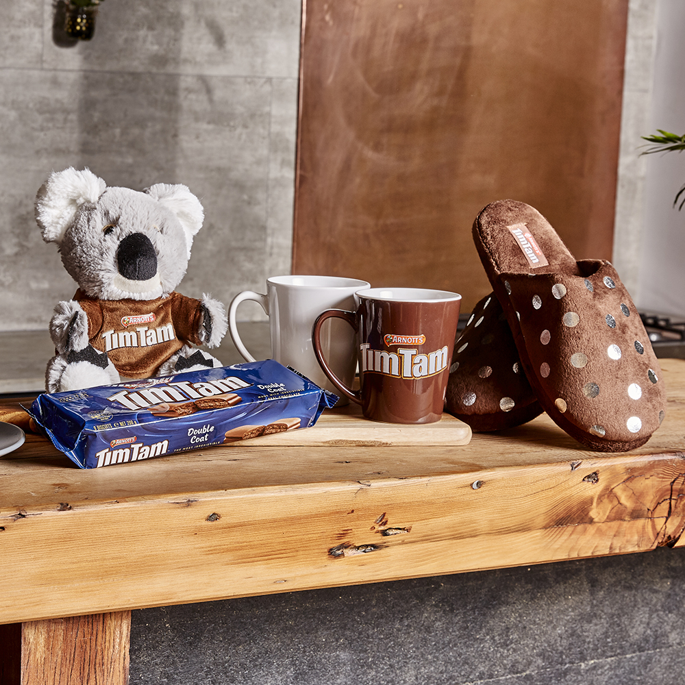 Arnott's Tim Tam Merchandise by Chicane Marketing. Australian Gifts for clients or customers.
