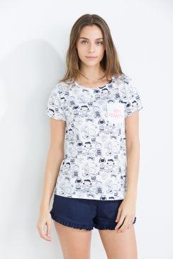 Pijama estampado de Snoopy