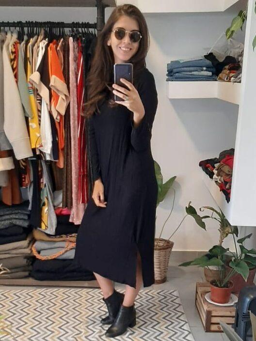 Vestido Amplio De Morley