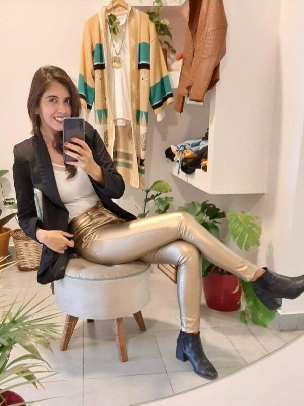 Pantalon Milena Engomado