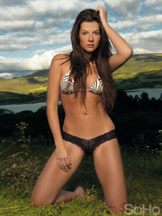 modelo y presentadora Carolina Cruz Osorio
